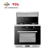TCL 家用环保大吸力油烟机燃气灶电蒸箱集成灶JJZT-JCE15ZK(天然气)