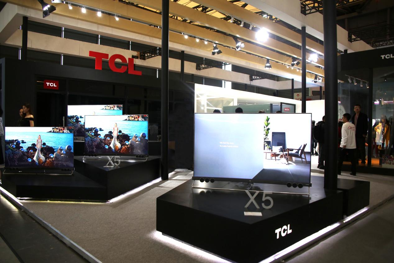 TCL X5、C6、P5亮相 2018年家博会,新品电视引领家居美学潮流