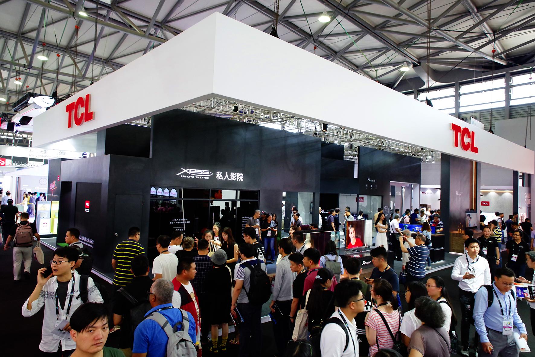 2018 CES Asia开幕 TCL空调将人工智能推向世界